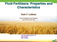 Fluid Fertilizer Basics