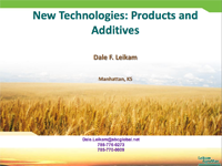 New Technologies, Products and Additives