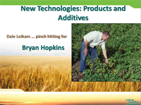 New Technologies Products and Additives