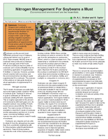 Nitrogen Management For Soybeans a Must