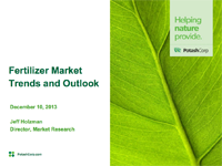 Fertilizer Market Trends and Outlook