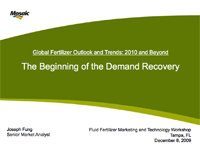 Global Fertilizer Outlook and Trends: 2010 and Beyond – The Beginning of the Demand Recovery