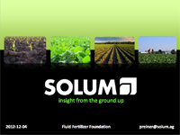 Solum and New Soil Sampling Technology