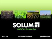 Solum and New Soil Sampling Technology