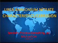 UAN Characteristics-Corrosion
