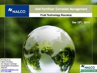 UAN Fertilizer Corrosion Management