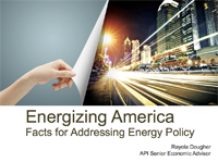 Energizing America: facts for Addressing Energy Policy