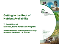 Getting to the Root of Nutrient Availability