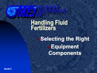 Handling Fluid Fertilizers