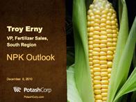 National & Regional Fertilizer Outlook