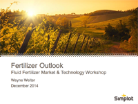 Fertilizer Outlook