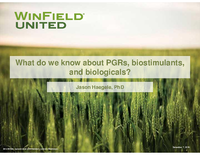 What Do We Know About PGRs, Biostimulants, and Biologicals?