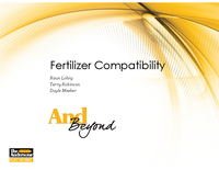 Fertilizer Compatibility