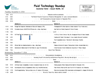 2016 Fluid Fertilizer Technology Roundup Agenda