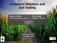 Potassium Nutrition and Soil Testing