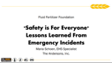 Safety is For Everyone – Lessons Learned From Emergency Incidents – Maria Schoen