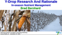 Y-Drop Research And Rationale – Brad Bernhard